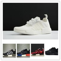 2018 Cheap Wholesale Hot NMD R1 Primeknit PK Perfect Authentic Running Sneakers Moda Running Shoes NMD Runner Primeknit Sneakers