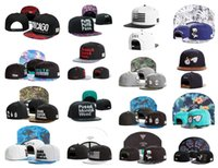 Wholesale Hiphop Leather - New Faux Leather Hats Cayler Sons Wu Tang Unisex Fishing Camping Caps Hiphop Popping Snapbacks Mix Order