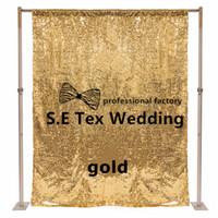 cenários de preços venda por atacado-Whlesale Price Sequin Panal Backdrop Curtain \ Stage Background para casamento e decoração de eventos Frete grátis