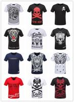Wholesale Hiphop Beads - New Clothing Men's Casual Hip Hop Long T shirt Men Tops T-shirts Male O-neck Hiphop shirt Short Sleeve Men's T-shirts