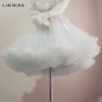 Wholesale Swing E - E JUE SHUNG Ball Gown Underskirt Swing Short Dress Petticoat Lolita Petticoat Ballet Tutu Skirt Rockabilly Crinoline
