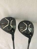 Wholesale graphite shaft regular flex - Golf clubs 917F 3# 5# Fairway Woods Regular Stiff flex Graphite shaft 2PCS 917 F Golf Woods Right hand