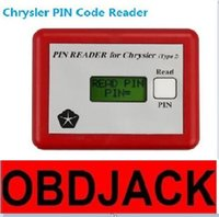 Wholesale Mazda Pin Code Reader - New Professional for Chrysler PIN CODE READER for Chrysler TYPE 2 Code Reader Auto Key Programmer Free Shipping