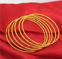 Wholesale 24k Gold Plated Bangles - 2017 New!Fashion Plated 24K gold bride bracelet jewellery,sky  car flower imitation ladies bracelet,cheap high quality jewelry wholesale.LD