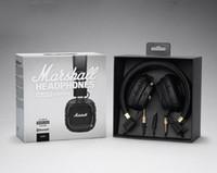 Wholesale Hot Over Ear Headphones - MAJOR II Bluetooth Headphone Wireless Hifi Bass Headset Metal Rock Earphone Noise Cancelling Headphones Over Ear Headphones Hot Free DHL