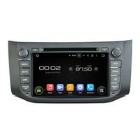 nissan dash gps dvd al por mayor-Reproductor de DVD del coche Android para Nissan Sentra con pantalla de 8 pulgadas HD, GPS, control del volante, Bluetooth, radio