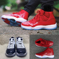 """Wholesale Basketball Number 23 - Top Number """"45"""" """"23"""" 11 Spaces Jams unc gym red Basketball Shoes for Men Women Top quality 11s Athletic Sport Sneakers"""