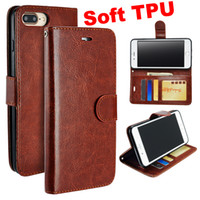 Wholesale iphone 6s flip phone case for sale - For iphone XS MAX XR X Soft TPU Wallet Leather Case Flip Vintage Retro Phone Cases Cover For S8 S9