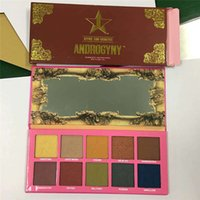 Wholesale Wholesale Glitter Items - 2017 newest ITEM !Eyeshadow palette makeup Jeffree Star Beauty KILLER ANDROGYNY 10 COLORS Five star cosmetics via dhl