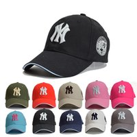 Wholesale Sports Caps Wholesale Price - Hot trend NY men women baseball hats Adjustable fashion snapback Sun outdoor Mountaineering hat sports Cheap Male Female cap Factory price