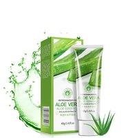 plantes d'aloès achat en gros de-BIOAQUA Marque Aloe Vera Gel Extrait de Plante Essence Naturelle Soin du Visage Soins du Visage Crème Hydratante