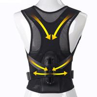 Wholesale health belts - New Universal Unisex Posture Corrector Shoulder Back Posture Support Belt Health Care Correctors for Kid Adult
