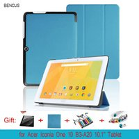 Wholesale Dot Cover Screen Protector - For Acer Iconia One 10 B3-A20 B3 A20 10.1'' Tablet Cases Custer PU Leather Cases Cover with screen protector