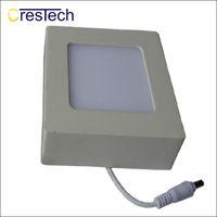 Wholesale led round flat panel light - Indoor light Slim panel lamp LED Surface Mounted Light Panel Ceiling Light Ultra Slim Round Square Flat Panel