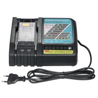 Wholesale 18v Battery Power Tools - 3A Li-ion Battery Charger Replacement for Makita power tool Electric Screwdriver DC18R  18RA BL1830 1815 1840 1850 14.4V-18V