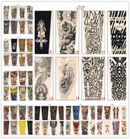 Manches de tatouage 70 Styles Arm Wearmers Cyclisme Protégeant Cool Anti UV Arm Midings Tattoo Ways Fishing Driving Sleeves