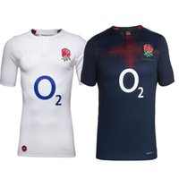 Wholesale S XL Maillot England Rugby Jersey National Team England Rugby Shirts Football Adults Mens Shirts Thailand AAA