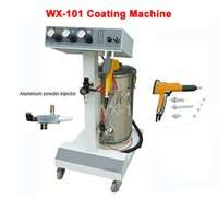 Wholesale Electrostatic Guns - WX-101 Electrostatic Spray Powder Coating Machine with Spraying Gun Paint
