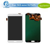 Wholesale Dhl Neo - 100% Tested Working LCD For Samsung Galaxy Note 3 Note 3 Neo Mini N7505 Screen Display Touch Digitizer With Free DHL Shipping