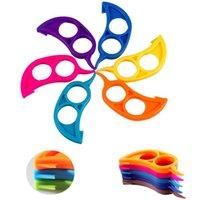 ingrosso gadget a colori-Commercio all'ingrosso - Multi color Gadget da cucina Fruit Barker Orange Barker Orange Flaying Plastic Barker Fruit Tools A0663