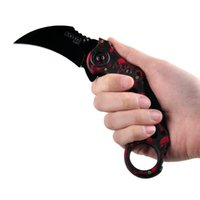 Wholesale Camping Gear Wholesalers - 5color Claw Knife Scorpion Claw knives Jungle Camping Outdoor Survival Gear Hunting Knife FOX claw knives folding training