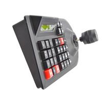 dome-controller großhandel-Max 64 set CCTV Analog Netzwerk Kamera DVR PTZ 3D Griff Joystick RS485 Geschwindigkeit Dome Kamera Controller Tastatur