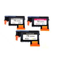 Wholesale Hp 72 - 3x For HP 72 printhead C9380A C9383A C9384A T1100 1100ps T795 T770 T610 790
