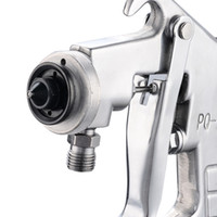 Wholesale From China PQ pneumatic mm puzzle size spray gun under the pot of pneumatic tools household spray paint spray gun