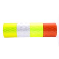 Wholesale Fluorescent Film - 5CM x 2M DIY Fluorescent Reflective Sticker Automobile luminous strip car & motorcycle Decoration Sticker wholesale