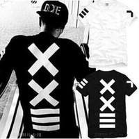 chemise pyrex homme achat en gros de-T-shirts pour hommes XXlll hip-hop PYREX 23 / HBA mode de rue à manches courtes t-shirt pour hommes T-shirt à capuche par air hight qualité livraison gratuite