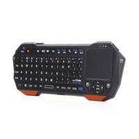 android tablet pc-fenster großhandel-Neue 3 in 1 Wireless Mini Bluetooth Tastatur Maus Touchpad für PC Windows Android iOS Tablet PC HDTV Google TV Box Media Player