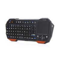 Wholesale Bluetooth Mouse Android Tablet - New 3 in 1 Wireless Mini Bluetooth Keyboard Mouse Touchpad For PC Windows Android iOS Tablet PC HDTV Google TV Box Media Player