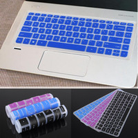 Wholesale Laptop Keyboard Skin Hp - Waterproof Silicone Rubber Keyboard Protector Film Laptop Keyboard Cover Skin Stickers for HP Pavilion x360 M3 m3-u103dx