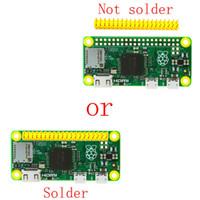himbeere großhandel-Freeshipping Raspberry Pi zero Pi0 Board Version 1.3 mit 1 GHz CPU 512 MB RAM Linux OS