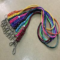 Wholesale Hot Girl Neck Hanging - hot Universal Lanyards Neck Lanyard Long Straps Nylon Hang Rope for Key chain man ang women