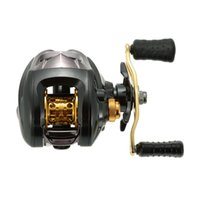 Wholesale fishing series - 12+1 Ball Bearings Fishing Reel 6.3:1 Gear Ratio Bait Casting Reel Right Left Magnetic Braking System High Speed Fish Reel Pesca