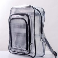 Wholesale Engineering Bag - 40*35*15 anti-static clear transparent backpack bag full cover by pvc for engineer put computer tool working in clean room free shipping