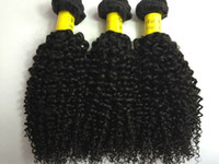 3 adet brazilian saç uzatma toptan satış-Kinky kıvırcık Brezilyalı Saç Örgüleri GELIŞMIŞ Insan Saç Atkı Hint Malezya Perulu Saç Uzantıları 3 adet Çift Atkı kinky kıvırcık Demetleri