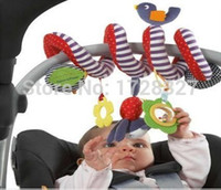 Wholesale Mobile Pa - Wholesale- Mamas Pas Stroller Musical Multifunctional Car bed crib Hanging Bell Newborn Baby Educational Rattles Mobiles Toys for babies