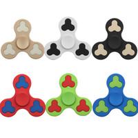 Wholesale Plum Toys - Hand Spinner 6 Colors Dull Polish Plum Hand Spinner Fingertips Spiral Fingers Gyro Torqbar Fidget Spinner Fidgets Decompression Toys OTH397