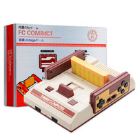 Wholesale Built 35 - RS-35 Classic Family 8Bit TV Video Game Console FC Red White TV Game NES Player Built-in 500 Game and Free 132 in 1 Games Card