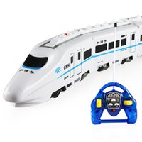 Wholesale Harmony Toy - Amazing RC Train - Harmony children rechargeable electric train toy trains large high-speed model boy birthday gift