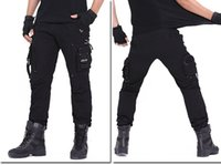 Wholesale Wholesale Combat Trousers - Mens Military Army Combat Cotton Camo Cargo Pants tactical Casual Mens Pant Multi Pocket Outdoor Long Straight Trousers Plus Size