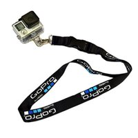 Wholesale Gopro Camera Waterproof - Camera Straps Hanging Rope Action Camera Neck Safety Strap for Gopro hero 5 4 3+ 3 SCJAM SJ4000 SJ5000 Xiaomi Yi Sport Camera