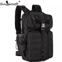 Wholesale Tactical Molle Backpack Waterproof - SINAIRSOFT Outdoor Tactical Backpack 1000D Waterproof Army Shoulder hunting backpack Multi-purpose Molle Sports Bag