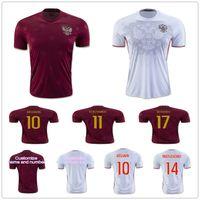 Wholesale Russia Soccer - Russia Soccer Jersey 10 ARSHAVIN 11 KERZHAKOV 14 YUSUPOV 17 DZAGOEV 23 KOMBAROV 22 DZYUBA 21 IONOV 9 KOKORIN SAMEDOV Russian Football Shirt