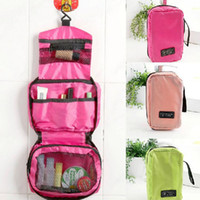 Wholesale small hand bag japan resale online - Small Size High Capacity Outdoor Travel Waterproof Portable Wash bag Travel Mate Makeup Bag Cosmetic Storage Handing Bags ZA1710