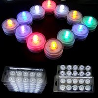 Wholesale Tea Light Battery Candles New - New Arrival Flickering Flicker Flameless LED Tealight Tea Waterproof Candles Light Battery Operated Wedding Birthday Party Xmas Decoration