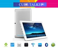 Wholesale Phone Tablet Inch Cube - Wholesale- New Arrival 10.6 Inch IPS Cube Talk11 3G Phone Call Tablet PC Android 5.1 MTK8321 Quad Core GSM+WCDMA 1GB 16GB 5.0MP Camera