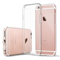 Wholesale Silicon Camera Covers - For iPhone7 TPU +PC Soft Case Protect Camera Cover Crystal Clear Transparent Silicon Ultra Thin Slim Shell for Samsung S8 S8plus